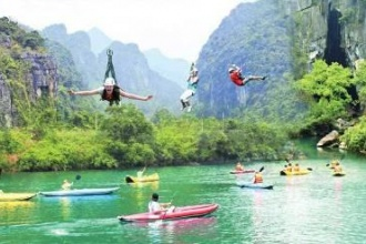 Phong Nha - Ke Bang National Park: the price list of tourism sites and services  managed by  the Tourism center so as to help tourists arrange their trip in Phong Nha - Ke Bang National Park.